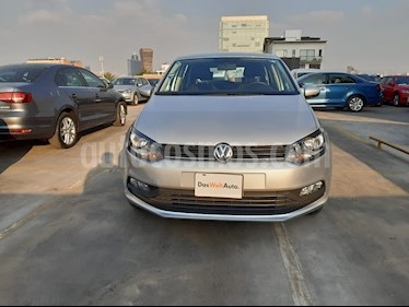 Volkswagen Polo 1.6L Comfortline 5P usado (2020) color Plata precio $259,000