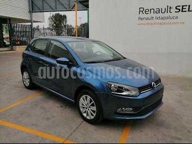 Volkswagen Polo 1.6L Base 4P Ac usado (2018) color Azul precio $190,000