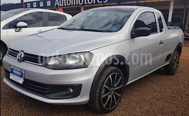 Foto venta Auto usado Volkswagen Saveiro - (2014) color Gris Plata  precio $370.000