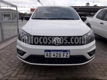 foto Volkswagen Saveiro 1.6 Cabina Doble Highline usado (2019) color Blanco precio $605.000