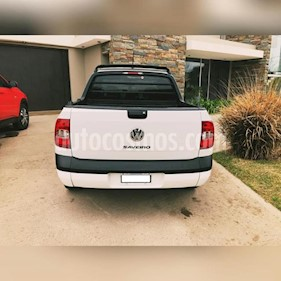 foto Volkswagen Saveiro 1.6 Cabina Doble Pack High usado (2015) color Blanco precio $395.000