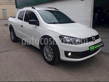 Foto venta Auto usado Volkswagen Saveiro 1.6 Cabina Doble Pack High (2015) color Blanco precio $420.000