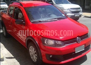 foto Volkswagen Saveiro 1.6 Cabina Doble Pack High usado (2015) color Rojo precio $530.000