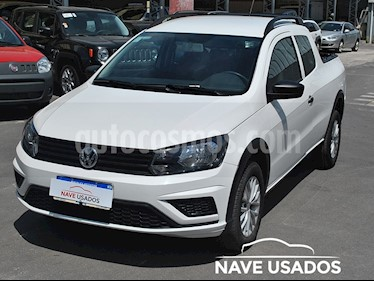 foto Volkswagen Saveiro 1.6 Cabina Doble Pack High usado (2016) color Blanco precio $440.000
