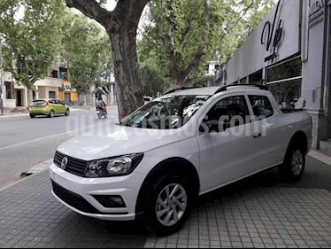 Foto venta Auto usado Volkswagen Saveiro 1.6 Cabina Doble Pack High (2019) color Blanco