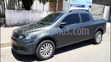 Foto venta Auto usado Volkswagen Saveiro 1.6 Cabina Doble Power (2015) color Gris Plata