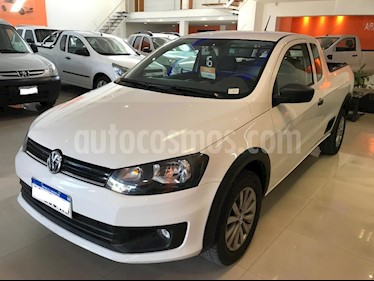 Volkswagen Saveiro 1.6 Cabina Extendida Pack High usado (2016) color Blanco precio $600.000