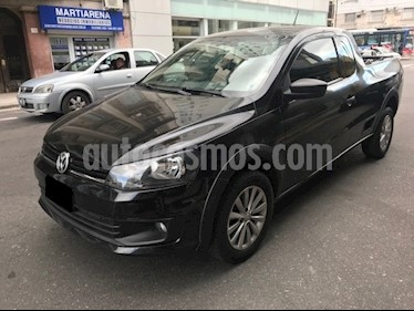 Foto venta Auto usado Volkswagen Saveiro 1.6 Cabina Extendida Pack High (2016) color Negro precio $348.000