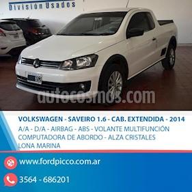 Foto venta Auto usado Volkswagen Saveiro 1.6 Mi Ac (2014) color Blanco precio $385.000