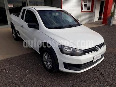 Foto Volkswagen Saveiro 1.6 Mi Ac usado (2015) color Blanco precio $440.000