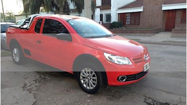Foto venta Auto usado Volkswagen Saveiro 1.6 Mi Ac (2013) color Rojo precio $330.000