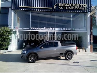 Foto venta Auto usado Volkswagen Saveiro 1.6 Mi Ac (2016) color Gris Oscuro precio $445.000