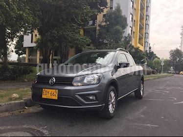Volkswagen Saveiro 1.6L CS Plus usado (2018) color Gris Platino precio $46.500.000