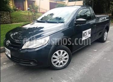 Foto venta Carro usado Volkswagen Saveiro 1.6L CS (2013) color Verde precio $29.900.000