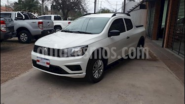 Volkswagen Saveiro 1.6 Cabina Doble Pack High usado (2017) color Blanco precio $1.111.111