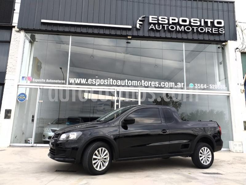 Volkswagen Saveiro 1.6 Cabina Extendida Safety usado (2015) color Negro precio $890.000
