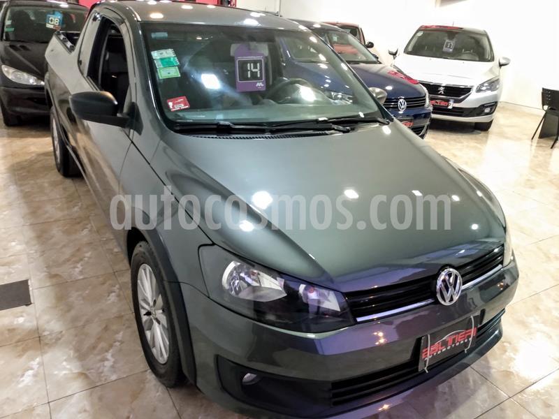 Volkswagen Saveiro 1.6 Cabina Extendida Safety usado (2014) color Gris Oscuro precio $870.000