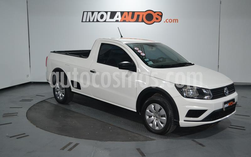 Volkswagen Saveiro 1.6 Cabina Simple Safety usado (2017) color Blanco Cristal precio $890.000