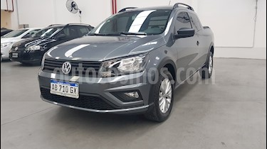 Foto Volkswagen Saveiro 1.6 Cabina Doble Highline usado (2017) color Gris precio $682.000