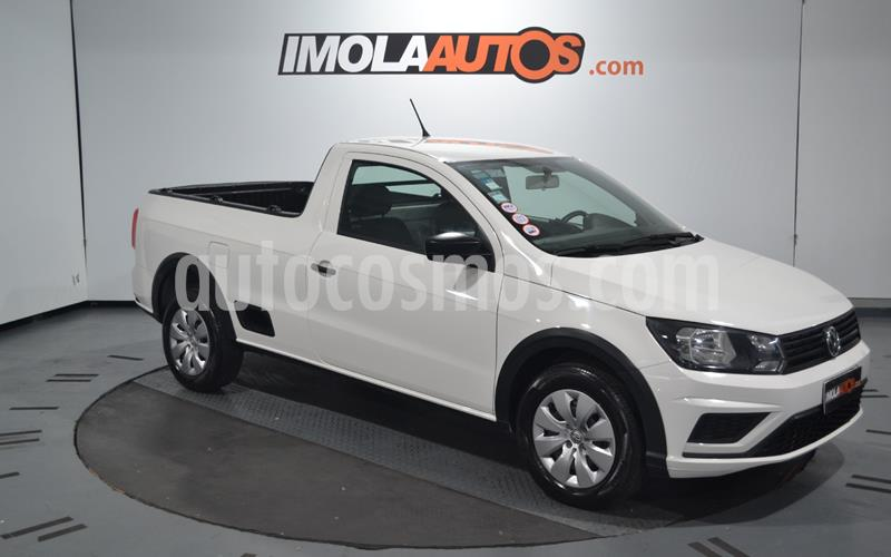 Volkswagen Saveiro 1.6 Cabina Simple Safety usado (2017) color Blanco Cristal precio $1.050.000