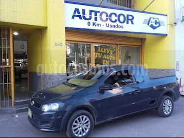 Volkswagen Saveiro 1.6 Cabina Extendida Safety usado (2014) color Azul precio $450.000