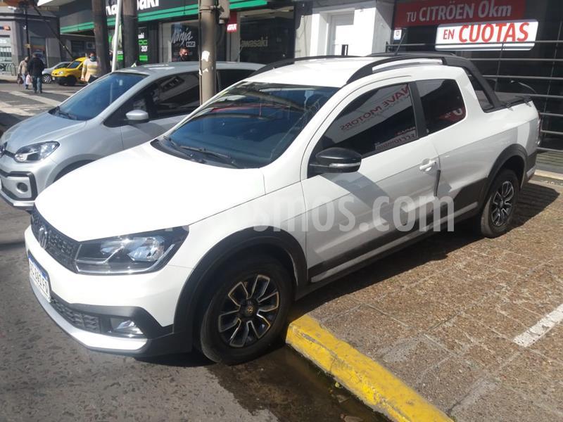 Volkswagen Saveiro 1.6 Cross usado (2018) color Blanco precio $1.159.000