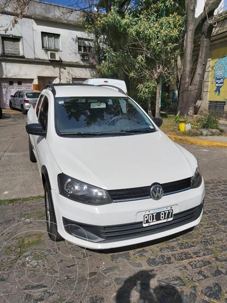 Volkswagen Saveiro 1.6 Cabina Doble + Pack High My15 usado (2016) color Blanco precio $1.150.000