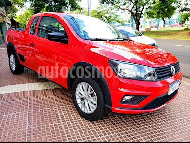 Volkswagen Saveiro 1.6 Cabina Extendida Safety Pack High usado (2017) color Rojo precio $664.990