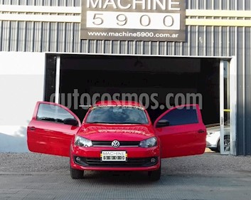 Volkswagen Saveiro 1.6 Cabina Doble Pack High usado (2015) color Rojo precio $750.000