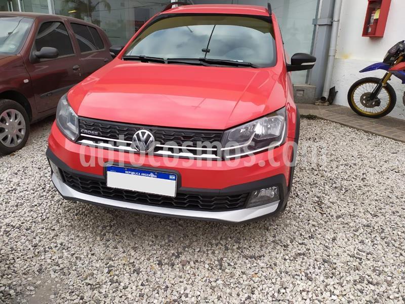 Volkswagen Saveiro 1.6 Cross usado (2017) color Rojo precio $1.180.000
