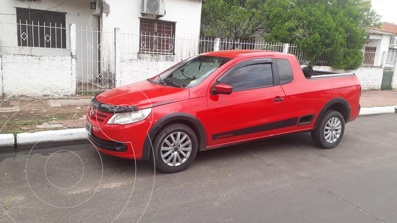 Volkswagen Saveiro 1.6 Cabina Extendida Pack Electrico usado (2011) color Rojo Flash precio $780.000