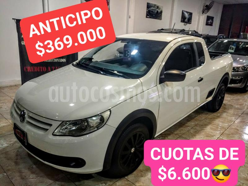 Volkswagen Saveiro 1.6 Mi Ac usado (2013) color Blanco precio $620.000