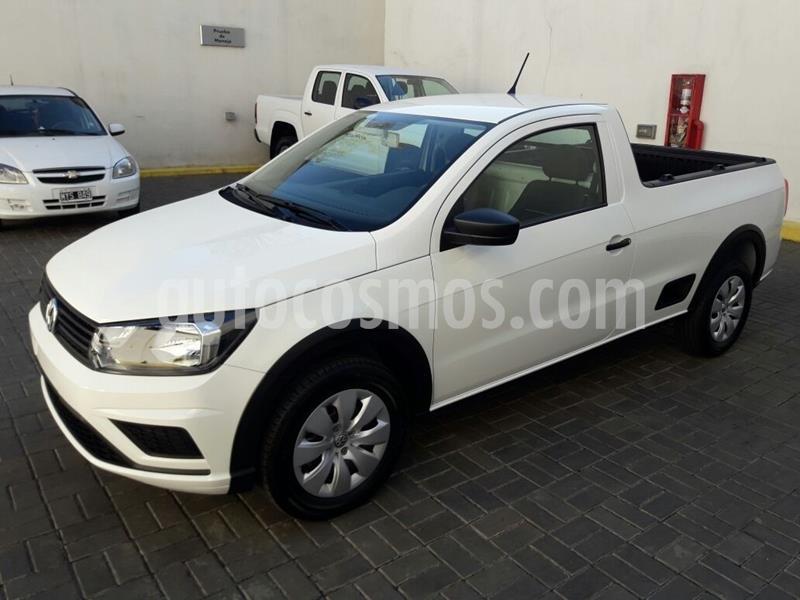 Volkswagen Saveiro 1.6 Cabina Simple Trendline nuevo color Blanco precio $1.476.000