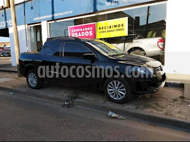 Volkswagen Saveiro 1.6 Cabina Doble Power usado (2016) color Negro precio $620.000