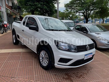 Volkswagen Saveiro 1.6 Cabina Extendida Safety usado (2017) color Blanco precio $719.990