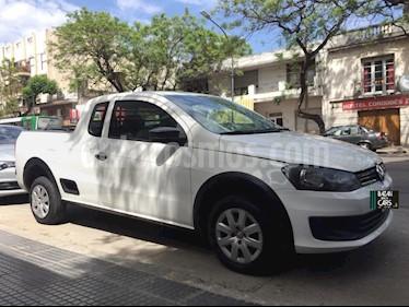 Volkswagen Saveiro 1.6 Mi Ac usado (2013) color Blanco precio $435.000