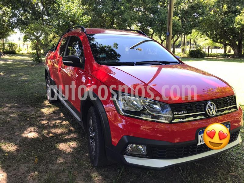Volkswagen Saveiro 1.6 Cross usado (2018) color Rojo precio $1.250.000
