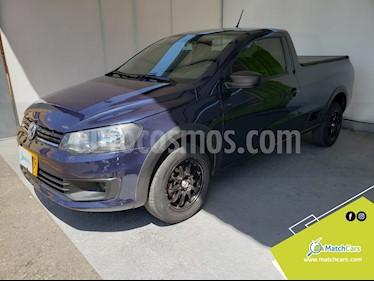 Volkswagen Saveiro 1.6L CD usado (2017) color Azul precio $29.990.000