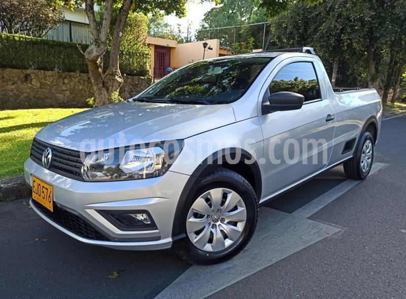Volkswagen Saveiro 1.6L CS  usado (2018) color Plata precio $35.900.000