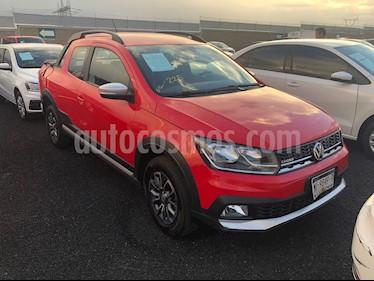 Foto venta Auto usado Volkswagen Saveiro Doble Cabina Cross (2017) color Rojo Flash precio $285,500