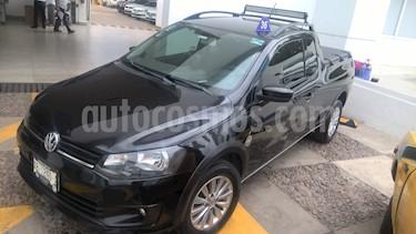 Foto venta Auto Seminuevo Volkswagen Saveiro Doble Cabina Trendline (2016) color Negro precio $190,000