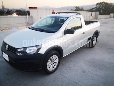 Volkswagen Saveiro Robust (Cabina Sencilla) usado (2019) color Plata precio $215,000