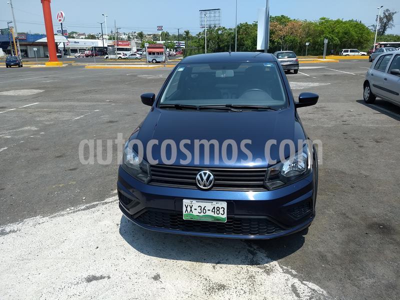 Volkswagen Saveiro Starline AC usado (2017) color Azul Noche precio $170,000