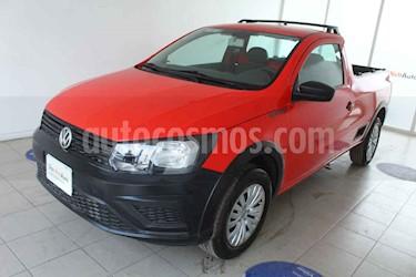 Volkswagen Saveiro Robust (Cabina Sencilla) usado (2019) color Rojo precio $215,000