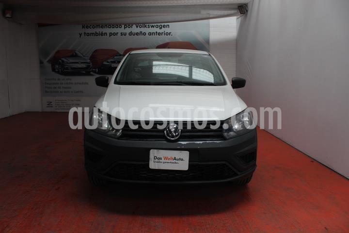 foto Volkswagen Saveiro Starline AC usado (2017) color Blanco precio $210,000