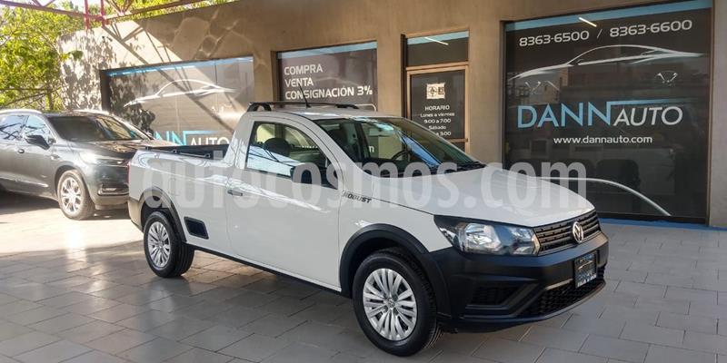 Volkswagen Saveiro Robust (Cabina Sencilla) usado (2019) color Blanco precio $209,000