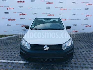 Volkswagen Saveiro 2p Starline L4/1.6 Man usado (2018) color Blanco precio $177,010