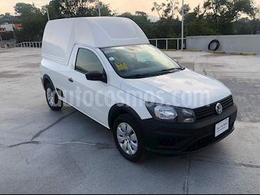 Volkswagen Saveiro Starline AC usado (2018) color Blanco Candy precio $175,000
