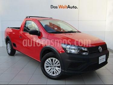 Volkswagen Saveiro Robust (Cabina Sencilla) A/A usado (2019) color Rojo Flash precio $219,000