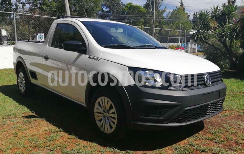 Volkswagen Saveiro Robust (Cabina Sencilla) usado (2020) color Blanco precio $227,001